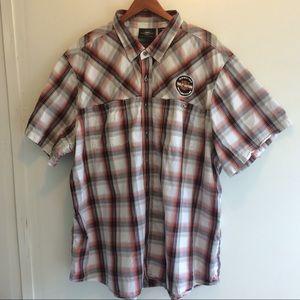 Harley-Davidson Plaid Shirt Size 4X